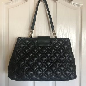 🌹Kate Spade New York Quilted Tote- Black